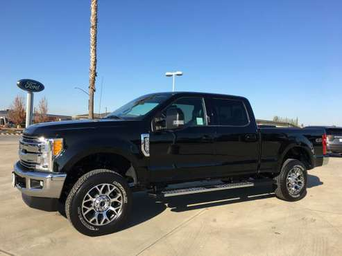 2017 Ford F-250 Lariat Crew Cab Diesel 4x4 - cars & trucks - by... for sale in Oakdale, CA