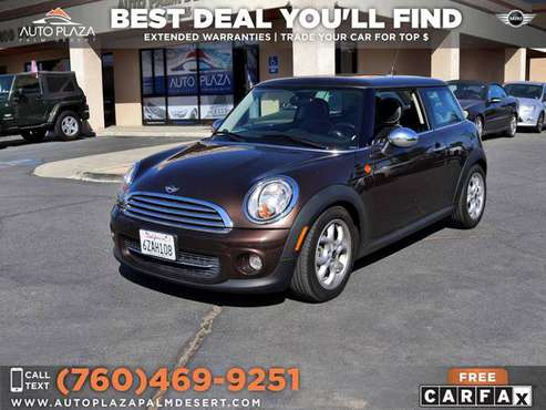 🚗 2012 Mini *Cooper* *Hardtop* $261 /mo 54,263 Miles!!! for sale in Palm Desert , CA