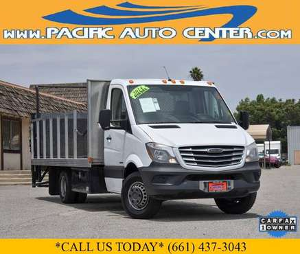 2014 Freightliner Sprinter 3500 Single Cab Stake Bed Diesel (25260) for sale in Fontana, CA