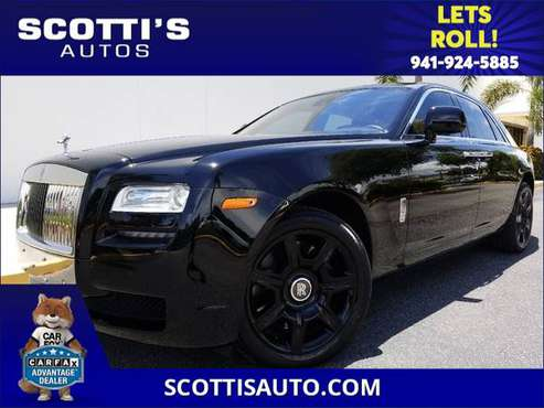 2011 Rolls-Royce Ghost BLACK/TAN! CLEAN CARFAX! MINT CONDTION!... for sale in Sarasota, FL