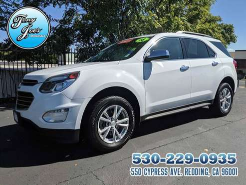 2016 Chevy Equinox LT AWD Sport Utility 4D MPG 20 City 29 HWY...CERTIF for sale in Redding, CA