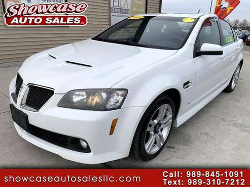 2009 Pontiac G8 4dr Sdn - cars & trucks - by dealer - vehicle... for sale in Chesaning, MI