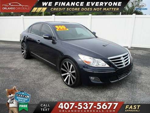 2011 Hyundai Genesis R/T $900 down DRIVE TODAY NO CREDIT CHECK for sale in Maitland, FL