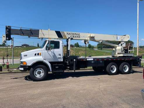 2002 Sterling National 1300 Series 30 Ton Crane Truck Boom Truck-... for sale in Jasper, GA