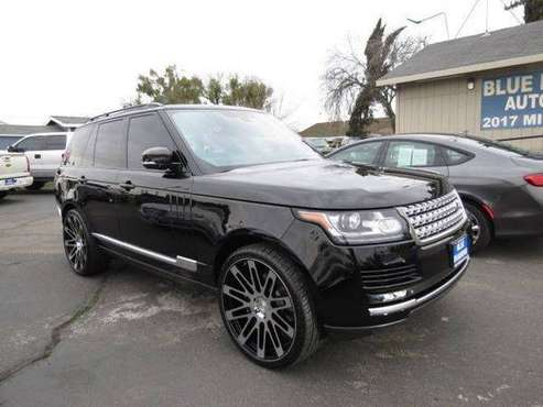 ** 2013 Land Rover Range Rover 24's Super Clean BEST DEALS GUARANTEED for sale in CERES, CA