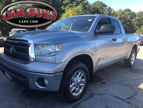 2012 Toyota Tundra Grade 4x4 4dr Double Cab Pickup SB (4.6L V8) < for sale in Hyannis, MA