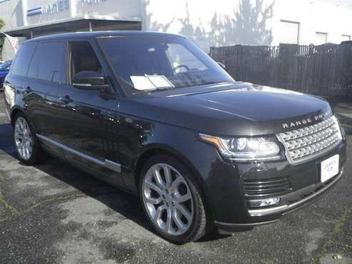 2016 Land Rover Range Rover Santorini Black Call Now and Save Now! for sale in Half Moon Bay, CA