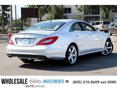 2012 Mercedes-Benz CLS sedan CLS 550 (Iridium Silver for sale in Van Nuys, CA