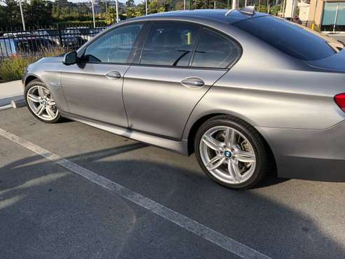 2014 BMW 535i - M Package, HUD, Premium, Drivers Assist, Convenience for sale in Belmont, CA