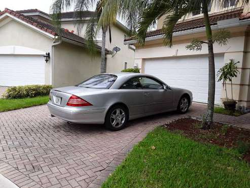 03 Mercedes cl 500 coupe firm price! for sale in West Palm Beach, FL
