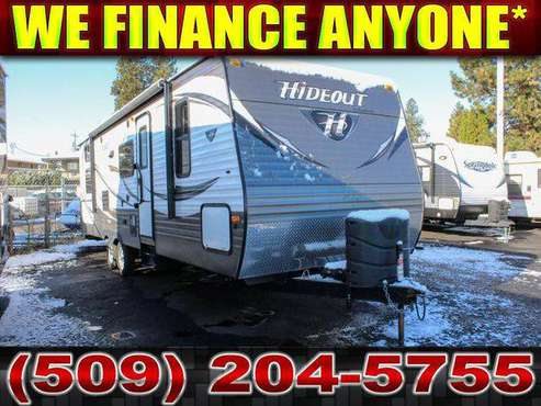 2016 KEYSTONE HIDEOUT 26BHS Bunkhouse Sleeps 10 Travel Trailer + Many for sale in Spokane, WA