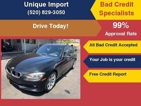 2014 BMW 3 Series 320i xDrive Your Job is your Credit!!! for sale in Tucson, AZ
