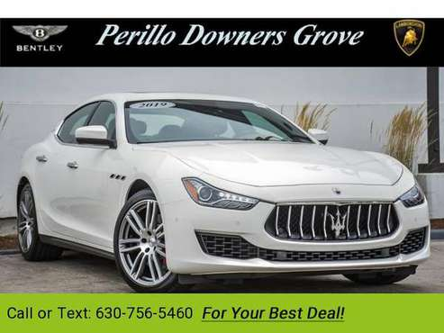 2019 Maserati Ghibli S sedan Bianco for sale in Downers Grove, IL