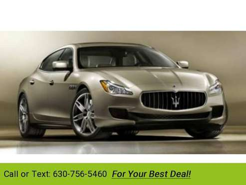 2014 Maserati Quattroporte GTS sedan Bianco for sale in Downers Grove, IL