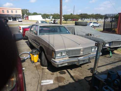 1984 Delta 88 owner car for sale in Wa o, TX