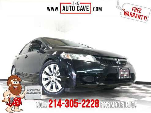 2010 Honda Civic *Easy In-House Payments for sale in Addison, TX