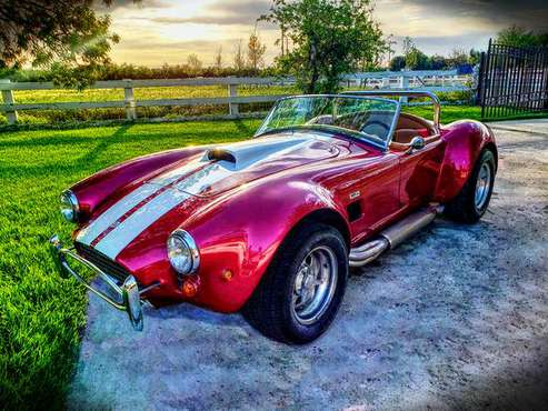 Amazing 1965 Shelby Cobra Big Block by West Coast Cobra!! for sale in Banta, CA