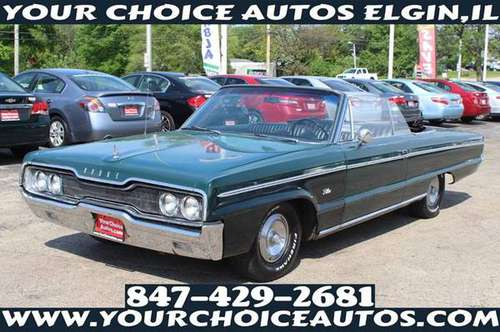 1966 *DODGE**POLARA *CONVERTIBLE CLASSIC VINTAGE CAR 46K 146175 for sale in Elgin, IL