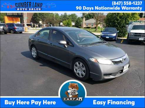 2010 Honda Civic Sdn 4dr Auto LX Suburbs of Chicago for sale in Desplaines, IL