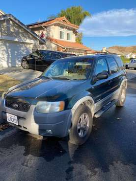 2002 Ford Escape - cars & trucks - by owner - vehicle automotive sale for sale in Santa Clarita, CA