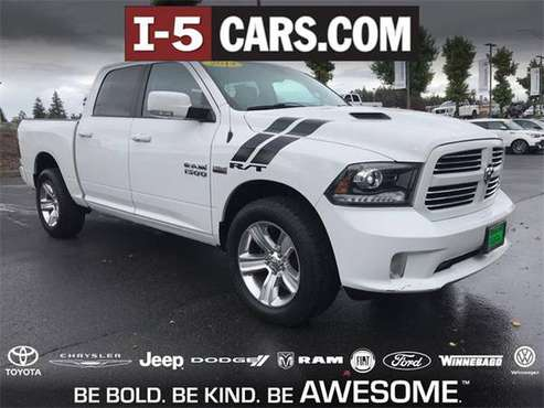 2014 Ram 1500 truck Sport - White for sale in Olympia, WA