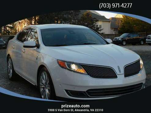2013 Lincoln MKS EcoBoost Sedan 4D - cars & trucks - by dealer -... for sale in Alexandria, District Of Columbia