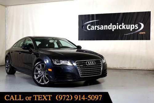 2014 Audi A7 3.0 Premium Plus - RAM, FORD, CHEVY, GMC, LIFTED 4x4s for sale in Addison, TX