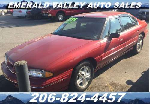 1998 Pontiac Bonneville SE Low Mileage - C.L. Special! - cars &... for sale in Des Moines, WA