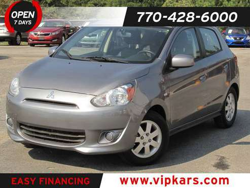 2015 *Mitsubishi* *Mirage* *4dr Hatchback CVT ES* Me for sale in Marietta, GA