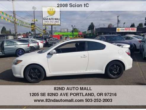 2008 Scion tC 2dr HB ****SPORTY***CLEAN TITTLE***PEARL WHITE**** for sale in Portland, OR