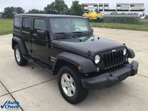 2016 Jeep Wrangler Unlimited Unlimited Sport - cars & trucks - by... for sale in Dry Ridge, KY