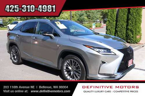 2017 Lexus RX 350 F SPORT * AVAILABLE IN STOCK! * SALE! * for sale in Bellevue, WA