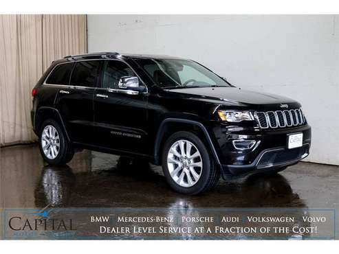 LOW Miles! '17 Jeep Grand Cherokee Limited 4x4 w/Nav, Cold Weather... for sale in Eau Claire, MN
