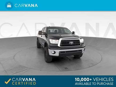 2012 Toyota Tundra Double Cab Pickup 4D 6 1/2 ft pickup Black - for sale in Atlanta, CA