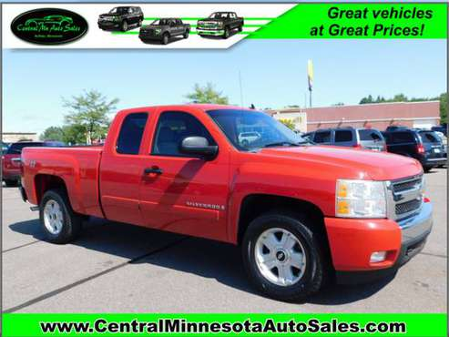 2007 Chevy Silverado 1500 LT Extended cab 4x4 *AZ truck, NO Rust!* for sale in Buffalo, MN
