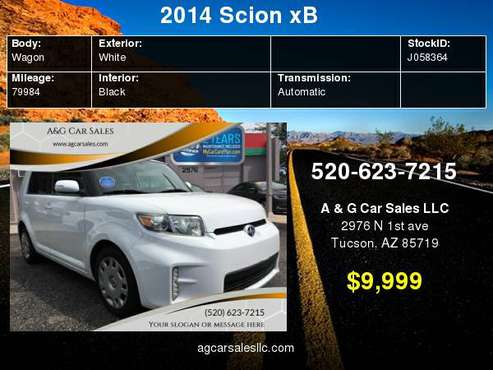 2014 Scion xB Base 4dr Wagon 4A for sale in Tucson, AZ