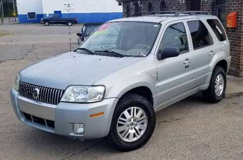 2006 Mercury Mariner Premier 4x4 - Low Miles All Power Loaded Moonroof for sale in New Castle, PA