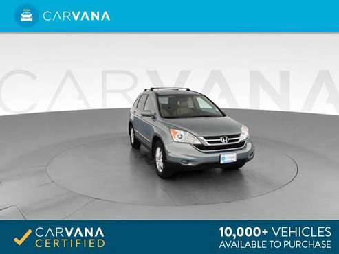 2011 Honda CRV EX-L Sport Utility 4D suv Blue - FINANCE ONLINE for sale in Indianapolis, IN