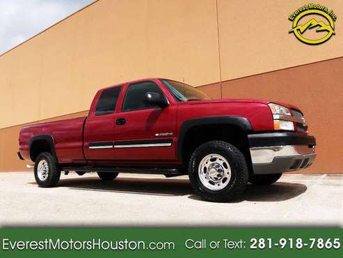 2004 Chevrolet Chevy Silverado 2500HD SL EXT.CAB LONG BED GASOLINE... for sale in Houston, TX