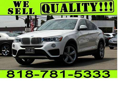 2016 BMW X4 xDRIVE28i **$0 - $500 DOWN* BAD CREDIT NO LICENSE* for sale in North Hollywood, CA