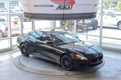 2014 Maserati Quattroporte S Q4 Financing Available. Apply NOW!!! for sale in CHANTILLY, District Of Columbia