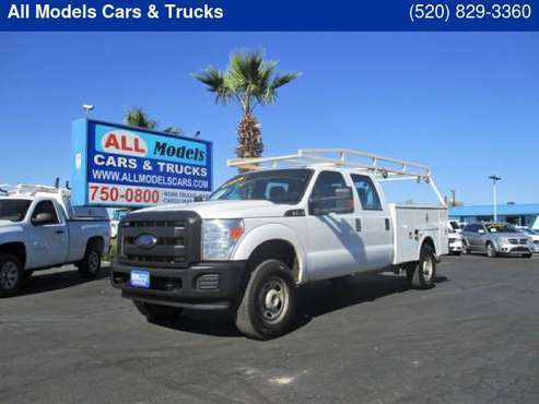 2016 FORD SUPER DUTY F-350 SRW 4WD CREW CAB 156 XL - cars & trucks -... for sale in Tucson, AZ