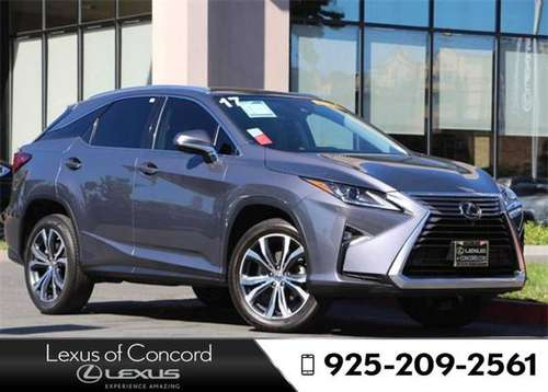 2018 Lexus RX 350L Monthly payment of for sale in Concord, CA