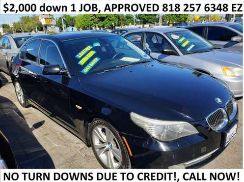 2008 BMW 5 Series 4dr Sdn 535i RWD for sale in Glendale, CA