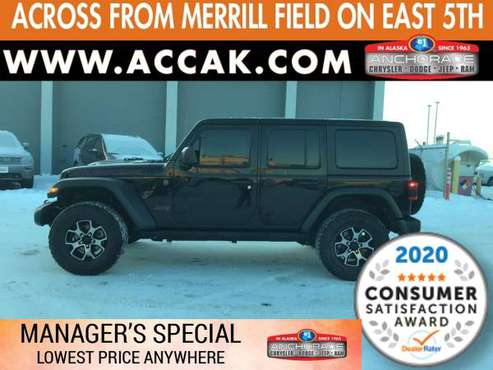 2018 Jeep Wrangler Unlimited Rubicon CALL James--Get Pre-Approved 5... for sale in Anchorage, AK