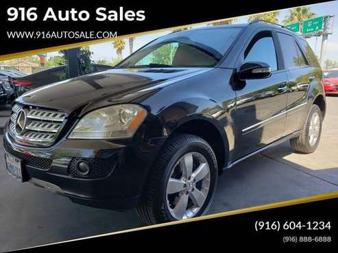 2007 Mercedes-Benz M-Class ML 500 AWD 4MATIC 4dr SUV for sale in Sacramento , CA