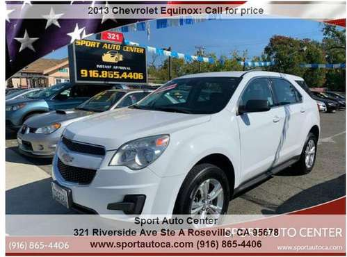 2013 Chevrolet Equinox LS 4dr SUV easy financing (2000 DOWN 179 MONTH) for sale in Roseville, CA