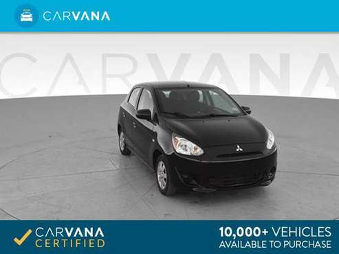2014 Mitsubishi Mirage DE Hatchback 4D hatchback Black - FINANCE for sale in Atlanta, CO
