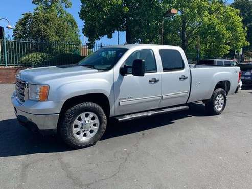 2014 GMC Sierra 3500 SLE Crew Cab*4X4*Tow Package*Allison*Long Bed* for sale in Fair Oaks, CA