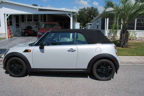 2015 Mini Cooper Convertible-flat tow pkg for sale in Zephyrhills, FL